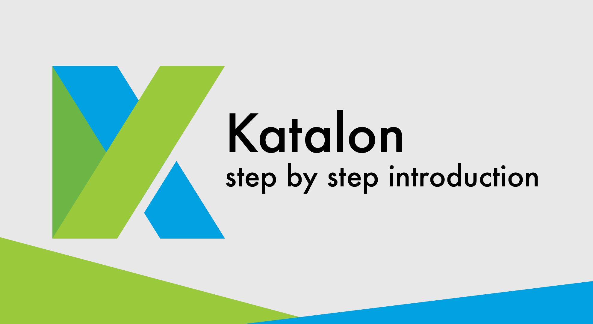 Selenium/Katalon a step by step introduction - Code Seed